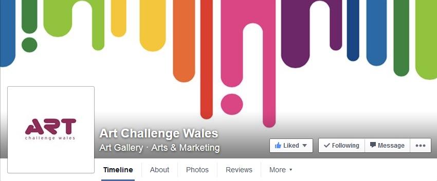 Art Challenge Wales Facebook
