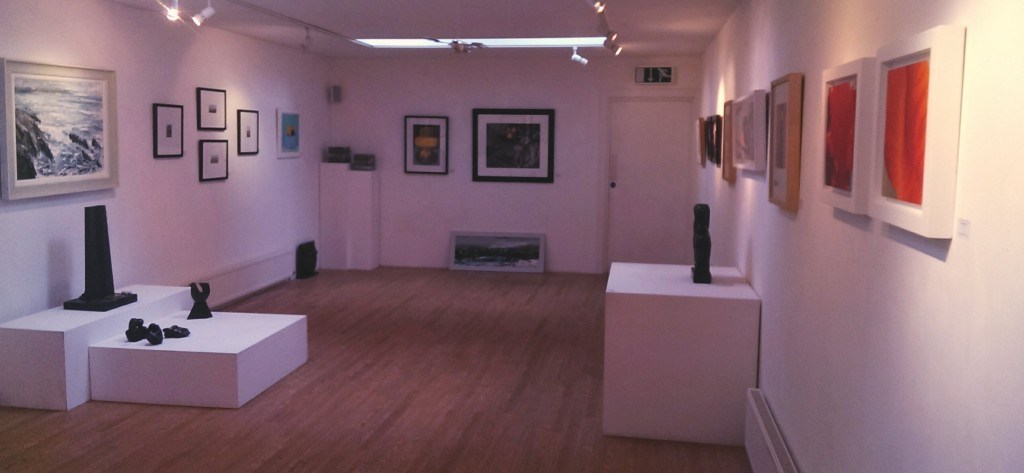 Exhibition space at Kooywood